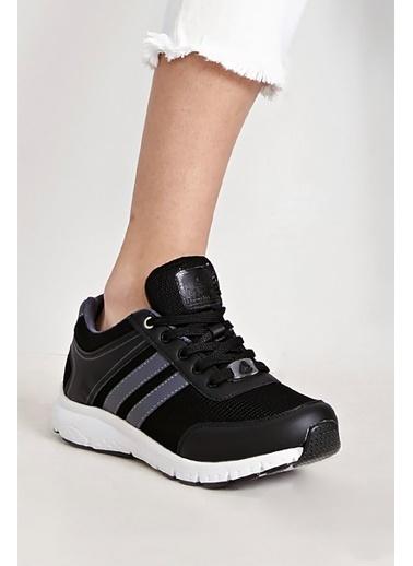 Letoon 4240Y Sıyah Kadın Spor Ayakkabı Siyah